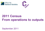 Operations to outputs roadshow image
